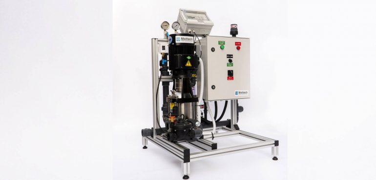 First installation of Mottech Fertigation Machine in China